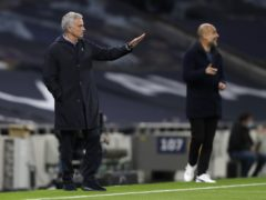 Jose Mourinho and Pep Guardiola will meet for the 25th time as managers at the Etihad on Saturday (Kirsty Wigglesworth/PA)