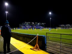 Tuesday night's match at the Progression Solicitors Stadium has been called off (Zac Goodwin/PA)