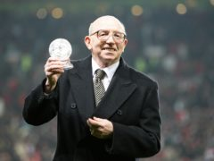 World Cup winner Nobby Stiles had been living with dementia for well over a decade before his death last year (Martin Rickett/PA)