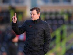 Mark Cooper praised his players (Simon Galloway/PA)