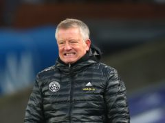 """Chris Wilder claimed """"nobody's bothered"""" about Sheffield United after their 1-0 defeat to Fulham (Clive Rose/PA)"""