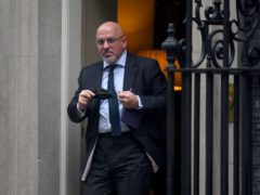 Vaccines minister Nadhim Zahawi has apologised for 'any confusion' over when asthma sufferers can expect to be offered a coronavirus jab (Victoria Jones/PA)