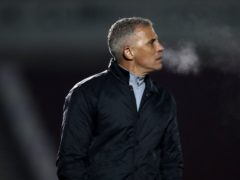 Keith Curle was satisfied with Northampton's point at Accrington (Nick Potts/PA).