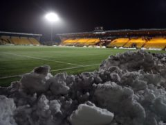 Livingston's game against Hamilton has been postponed due to snow (Andrew Milligan/PA)