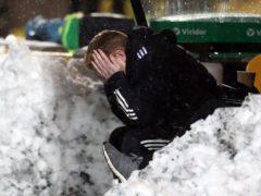Neil Lennon has endured a season of misery (Andrew Milligan/PA)