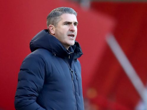 Plymouth manager Ryan Lowe saw his side edge out Lincoln (Tim Goode/PA).
