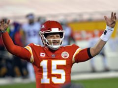 Patrick Mahomes is focused on winning another Super Bowl (Reed Hoffmann/AP)