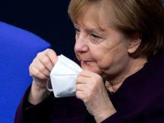 German Chancellor Angela Merkel (Bernd von Jutrczenka/AP)