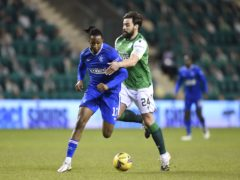 Darren McGregor (right) made his first league start in more than a year against Rangers (Ian Rutherford/PA)