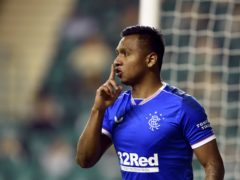 Alfredo Morelos is suspended again (Ian Rutherford/PA)