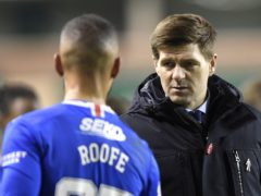 Gerrard is frustrated with the decision to cite Rangers' Kemar Roofe (Ian Rutherford/PA)