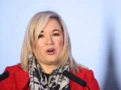Deputy First Minister Michelle O'Neill is self-isolating following a positive Covid test result at her home (Press Eye/PA)