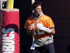 Tom Brady is preparing to play in his 10th Super Bowl (Chris O'Meara/AP)