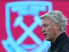 West Ham manager David Moyes is targeting a place in Europe next season (Clive Rose/PA)