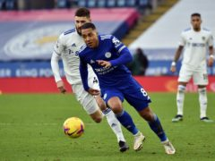 Leicester's Youri Tielemans has been in fine form this season (Rui Vieira/PA)