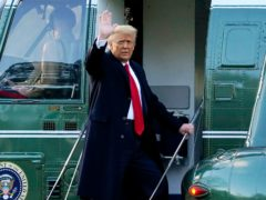 The US Senate has voted that it is allowed to try Donald Trump for insurrection even though he has left office (Alex Brandon/AP)