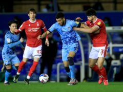 Nottingham Forest battled back to defeat Coventry (