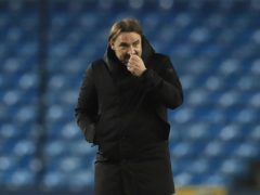 Norwich boss Daniel Farke saw his side strengthen their promotion claims with victory at Wycombe (PA)