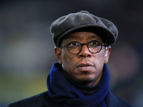 The Irish teenager who racially abused Ian Wright has escaped a criminal conviction (Mike Egerton/PA)