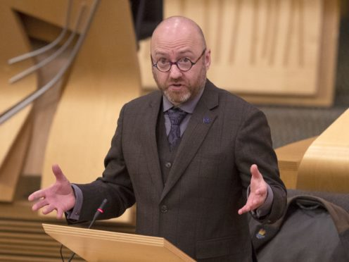 Patrick Harvie has warned more needs to be done to tackle poverty (Jane Barlow/PA)
