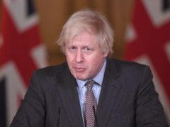 Boris Johnson will urge world leaders to work together to defeat the 'common enemy' of coronavirus (Stefan Rousseau/PA)
