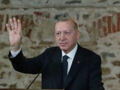 Turkish President Recep Tayyip Erdogan (Turkish presidency/AP)