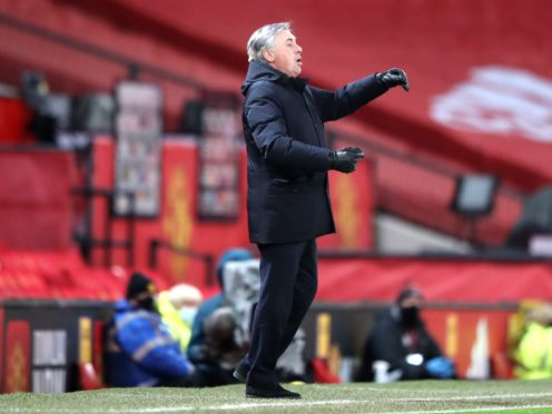 Everton manager Carlo Ancelotti will make defensive tweaks after conceding seven in two matches (Alex Panting/PA)