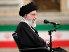 Iran's Supreme Leader Ayatollah Ali Khamenei (Office of the Iranian Supreme Leader via AP)