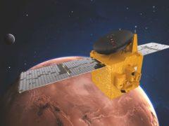 UAE's Hope Probe enters Mars orbit (Mohammed Bin Rashid Space Centre (MBRSC)/PA)