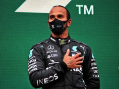 Lewis Hamilton committed to only a one-year extension with Mercedes (PA)