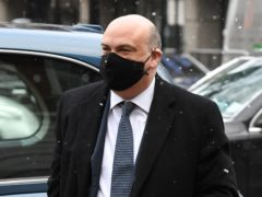 British businessman Michael Lynch arrives at Westminster Magistrates' Court, London, where he is fighting to avoid extradition to the US to face fraud charges (Kirsty O'Connor/PA)