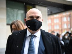 British tech tycoon Michael Lynch arriving at Westminster Magistrates' Court, London (Kirsty O'Connor/PA)