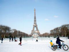 The Eiffel Tower in Paris (Thibault Camus/AP)