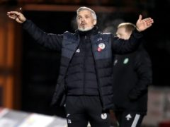 Jim Goodwin wants to end underachievement at St Mirren (Andrew Milligan/PA)