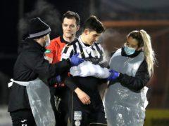 Jamie McGrath is among St Mirren's injured players (Andrew Milligan/PA)