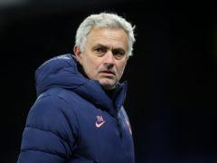 Jose Mourinho says Tottenham can still finish in the top four (Martin Rickett/PA)