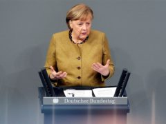 German Chancellor Angela Merkel (Michael Sohn/AP)