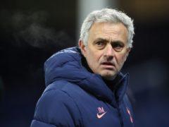 Jose Mourinho is determined to turn around Spurs' fortunes (Martin Rickett/PA)
