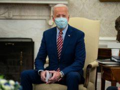 US president Joe Biden said the sanctions 'need not be permanent' (Evan Vucci/AP)