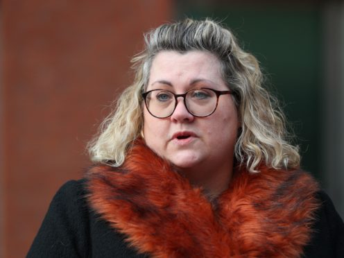 Lisa Squire, the mother of student Libby Squire (Peter Byrne/PA)