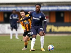 Nathan Ferguson, right, was among the scorers for Southend (Zac Goodwin/PA)