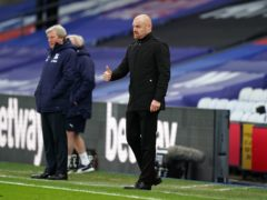 Sean Dyche watched Burnley return to winning ways with a 3-0 victory at Crystal Palace (John Walton/PA)