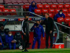 Barcelona boss Ronald Koeman believes his side are building momentum (Joan Monfort/AP)