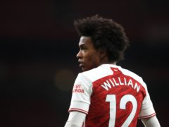 Willian has endured a slow start to life at Arsenal (Adam Davy/PA)