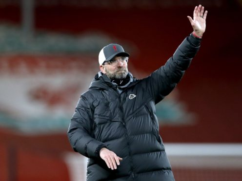Liverpool manager Jurgen Klopp insists he and not the players must take responsibility for their disappointing season (Clive Brunskill/PA)