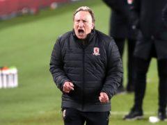 Neil Warnock's Middlesbrough beat Huddersfield (Tim Goode/PA)