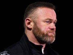 Wayne Rooney was not happy despite his side's late winner (John Walton/PA)