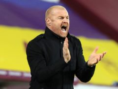 Sean Dyche believes a full week of fixtures will have been a big help to his Burnley side (Lindsey Parnaby/PA)