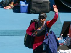 Serena Williams waves goodbye at Melbourne Park – but for good? (Andy Brownbill/AP)