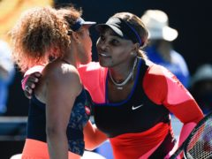 Serena Williams lost in straight sets to Naomi Osaka (Andy Brownbill/AP)